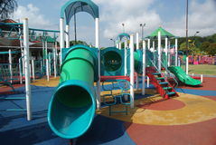 Playground. A playground in a residential area Royalty Free Stock Images