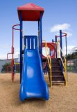 Playground. A bright and colourful outdoor childrens playground Royalty Free Stock Photography