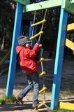 On the playground Royalty Free Stock Photo