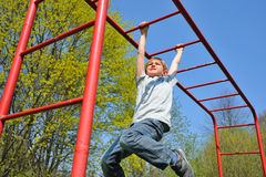 On the playground Stock Photography