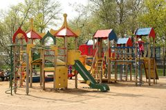 Playground Stock Image