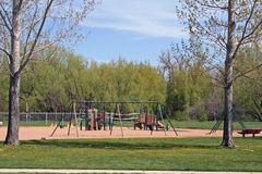 Playground. In a city park Royalty Free Stock Photos