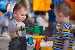 On the Playground Royalty Free Stock Images