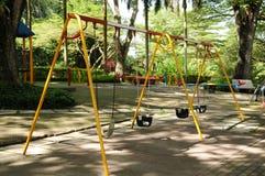 Playground. A  children playground equipment Stock Image