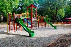 Playground. For children, jungle gym Stock Image