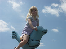At the playground Royalty Free Stock Photography
