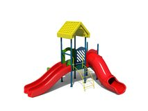 Playground. A colorful playground for a kids Royalty Free Stock Image