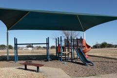 Playground. Covered playground Royalty Free Stock Photo
