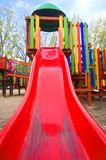 Playground. Beautiful playground in a park Royalty Free Stock Photos
