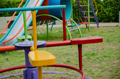 playground Fotografia de Stock Royalty Free