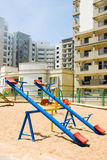 Playground. A playground in an apartment complex Royalty Free Stock Photos