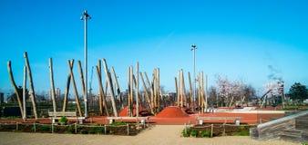 playground Photographie stock libre de droits