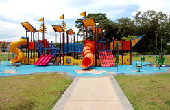 Playground. Play ground in town park Kuala Lumpur Stock Photos