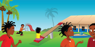 Playground Africa Royalty Free Stock Image