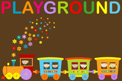 Playground announcement Royalty Free Stock Photography