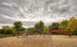 Playground in autumn Royalty Free Stock Photo