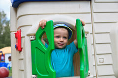 Playground baby Stock Photo