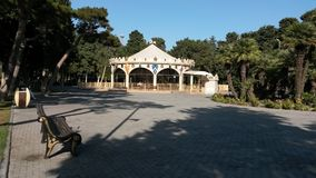 Playground at baku boulevard. Baku city boulevard playground Royalty Free Stock Photo
