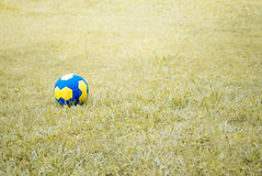 Playground. A ball in the playground royalty free stock image