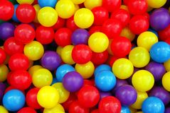 Playground balls Royalty Free Stock Photo