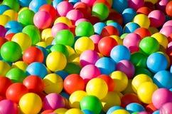 Playground balls Royalty Free Stock Image