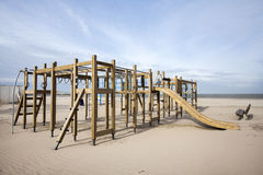 Playground on the beach Royalty Free Stock Photography