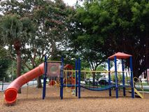 Playground. Beautiful Colorful playground Royalty Free Stock Photography
