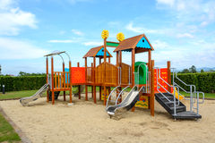 Playground with blue sky Royalty Free Stock Photography