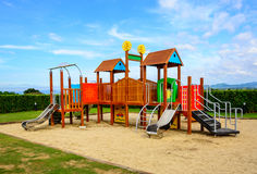 Playground with blue sky Royalty Free Stock Images
