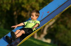 Playground boy 10 royalty free stock image