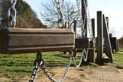 Playground Chains stock photography