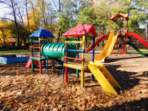 Playground, childhood, outdoors, play, park, recreational Stock Images