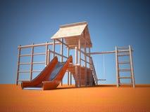 Playground without children Stock Photos