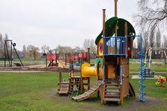 Playground. Children playground in the park Royalty Free Stock Photo