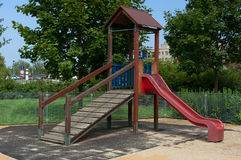 Playground for children. Royalty Free Stock Photos