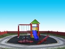 Playground, Children Play Set, Fun Royalty Free Stock Photography