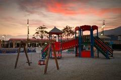 Playground for children Stock Photo