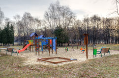Playground for children. Stock Photography