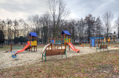 Playground for children. Royalty Free Stock Photography