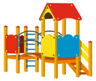 Playground for children Stock Photography