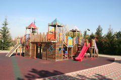 Playground without children Stock Images