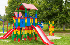 Playground children's entertainment Royalty Free Stock Image