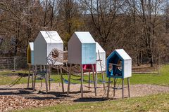 Bayreuth city - playground royalty free stock photography