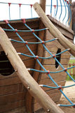 Playground with climbing frame Stock Image