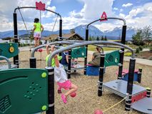 Playground in Colorado Stock Images