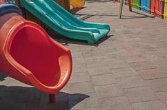 Playground with copy space Stock Photo