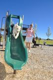 Playground for dogs Royalty Free Stock Image