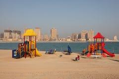 Playground in Doha, Qatar Stock Images