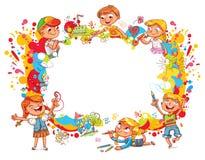 playground E illustrazione di stock