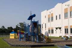 Playground at Elementary School Royalty Free Stock Image